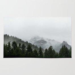 Faded Forest Landscape Rug