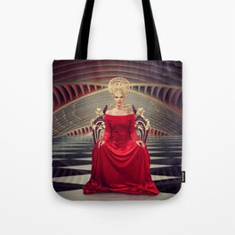 Queen of red Tote Bag