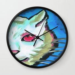 Ferocious Feline Wall Clock