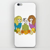60s iPhone & iPod Skins featuring 60s girls by Bunny Miele