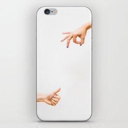 A-OK + Thumbs Up iPhone Skin