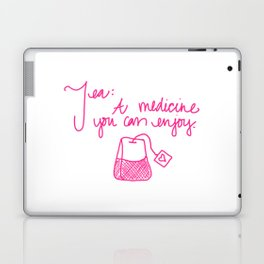 Tea: A medicine you can enjoy. Laptop & iPad Skin