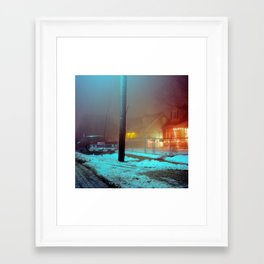 after xmas Framed Art Print