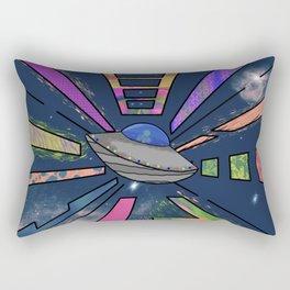 Space Cruising Rectangular Pillow