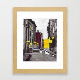 10th Street Framed Art Print