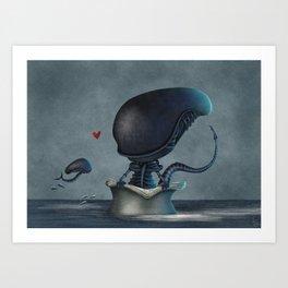 Xenolovers Art Print