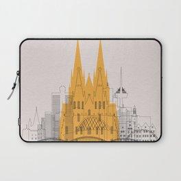 Cologne Landmarks Poster Laptop Sleeve