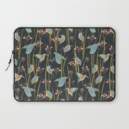 King Fishers and Marsh Reeds Laptop Sleeve