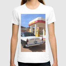 Biker Patrol Vintage Car : Lowell Arizona T-shirt