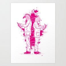 Artwork No.5 Art Print