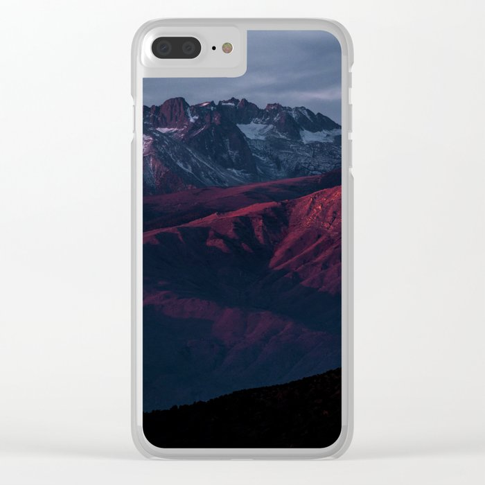 Mountain Landscape #sunset Clear iPhone Case