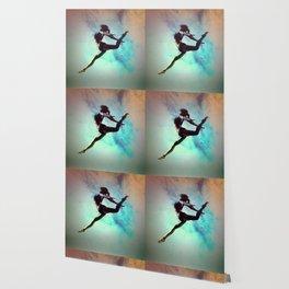 Ballet Dancer Feat Lady Dreams Abstract Art Wallpaper