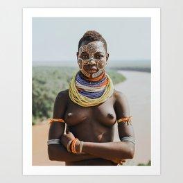 Karo Tribeswoman II Art Print