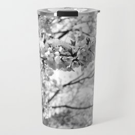 Where The White Blossoms Grow Travel Mug