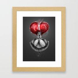 Crimson Lolita Framed Art Print