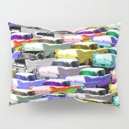 Gridlock Vintage Parking Lot Pillow Sham