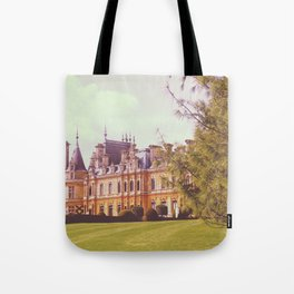 Country Manor House Tote Bag