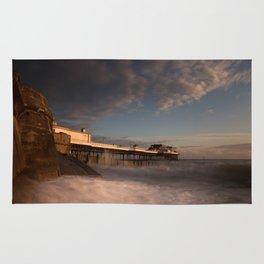 Cromer Pier at dawn Rug