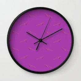 Murderer Barbie Print Wall Clock