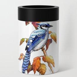 Bluebird in Autumn Can Cooler