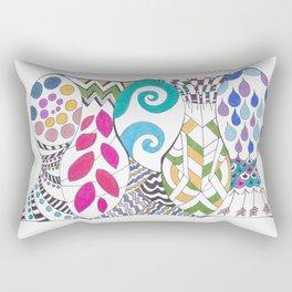 5 fish Rectangular Pillow