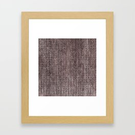 Ink Weaves: Rose Gold (II) Framed Art Print