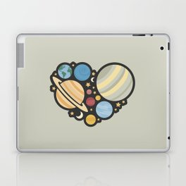 Heart of an Astronaut Laptop & iPad Skin