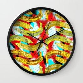 Banana Madura. Wall Clock