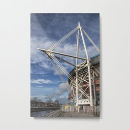 Millenium Stadium, Cardiff. Metal Print