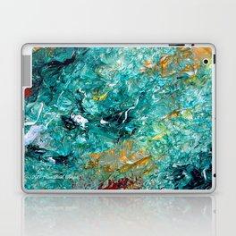 """Leprechaun's Koi Pond"" Painting Laptop & iPad Skin"