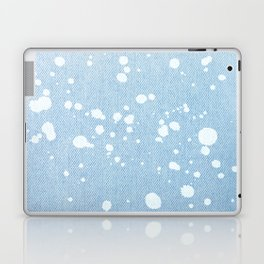 Stained jeans texture Laptop & iPad Skin