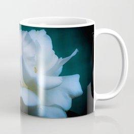 Satin White Rose Coffee Mug