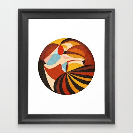 As She Moves Framed Art Print