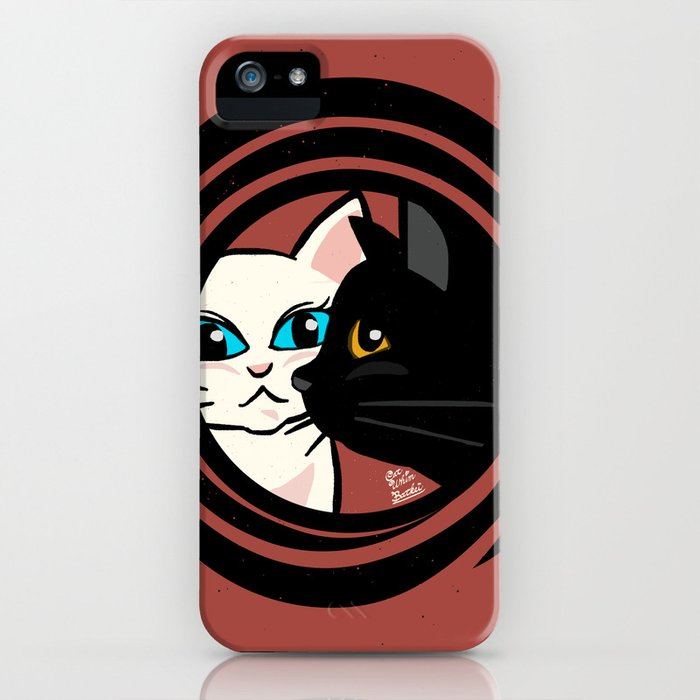 Cool cats iPhone Case