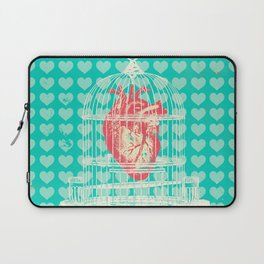 CAGED HEART Laptop Sleeve