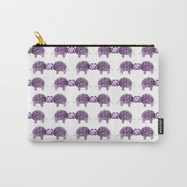 Romance And Elephants Carry-All Pouch