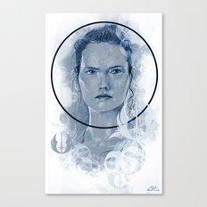 Blue Rey Canvas Print