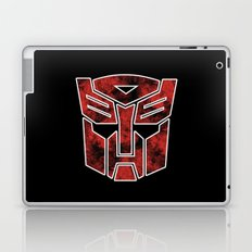 Autobots in flames - Transformers Laptop & iPad Skin
