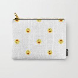 Happy Sun Motif Kids Pattern Carry-All Pouch