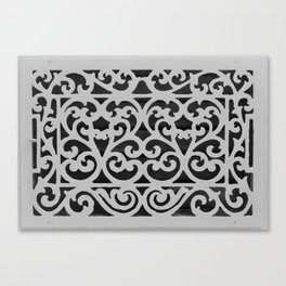 Antique Vent Cover Canvas Print