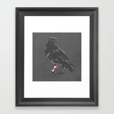 You've Got a Raven Framed Art Print