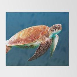 Turtley Throw Blanket