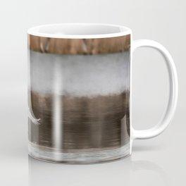 Swan Takeoff Coffee Mug