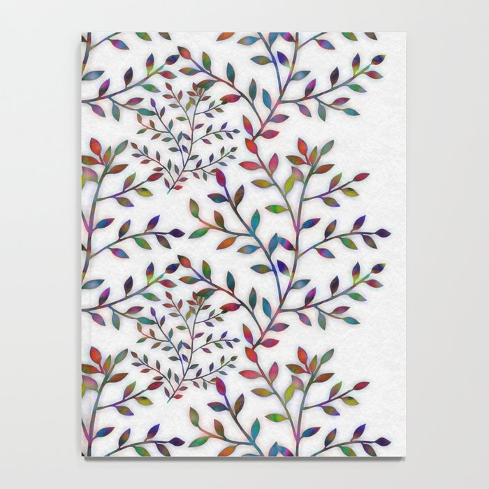 Small, Colorful Leaves  Notebook
