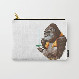 A gorilla relaxing after taking bath Carry-All Pouch