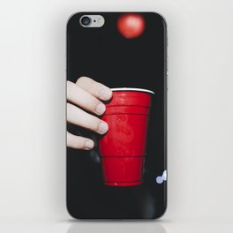 RED CUP #2 iPhone Skin