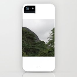 Wales Landscape 4 Cader Idris and Trees iPhone Case