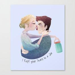 Tears in a Jar Canvas Print