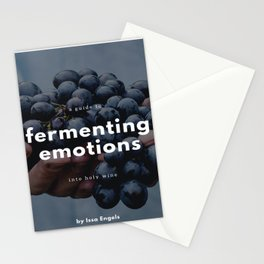 Fermenting Emotions (Notebook) Stationery Cards