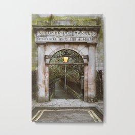 Stockbridge Market Gate Metal Print